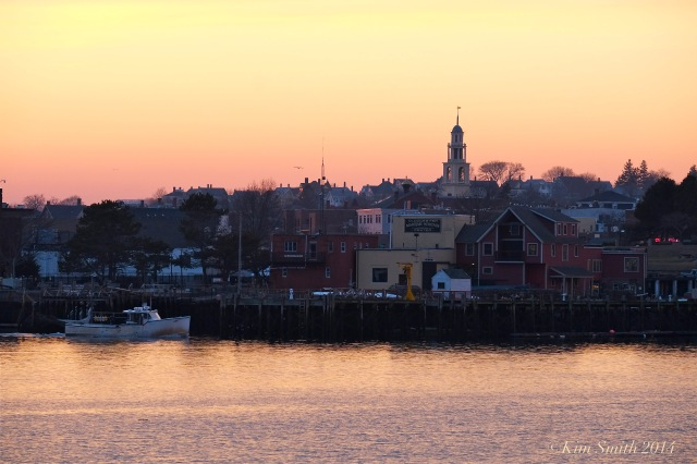 Gloucester City Hall Smiths Cove sunset. ©Kim Smith 2014