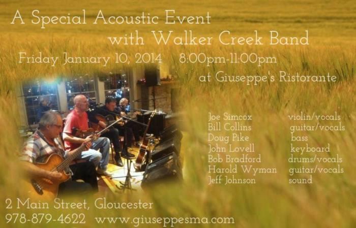 Walker Creek Giuseppes fri
