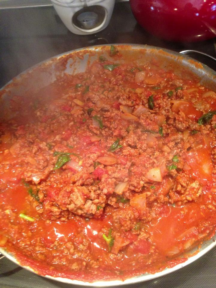 dee noble Bolognese sauce