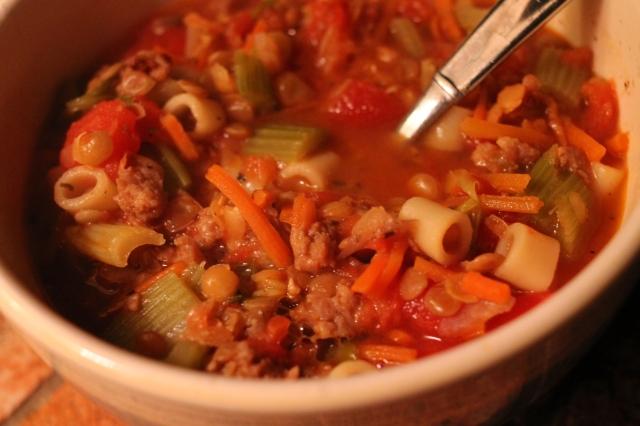 Donna Ardizzoni Lentil Soup