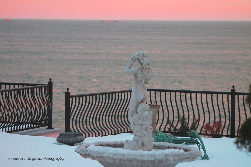 February 14, 2014 mermaid at sunset