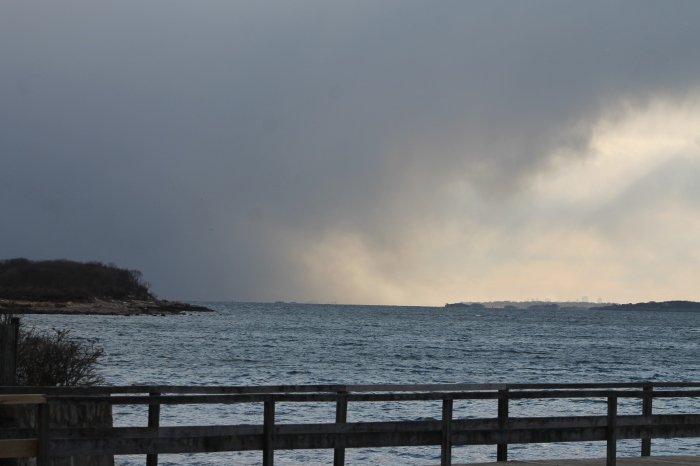 February 24, 2014 snow squall