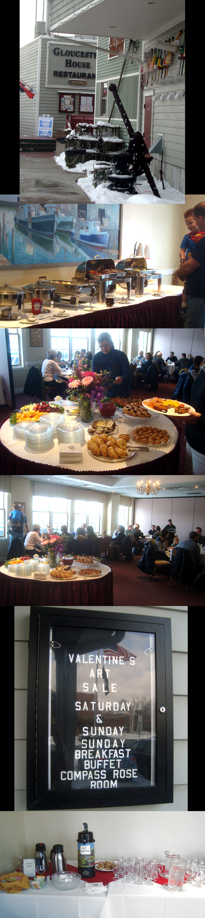 gloucester house breakfast buffet and thanks