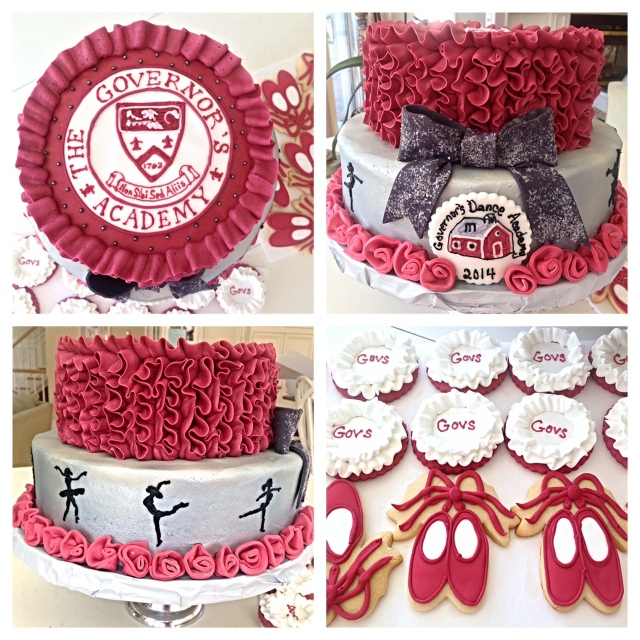 Governors Winter Dance cake 2014