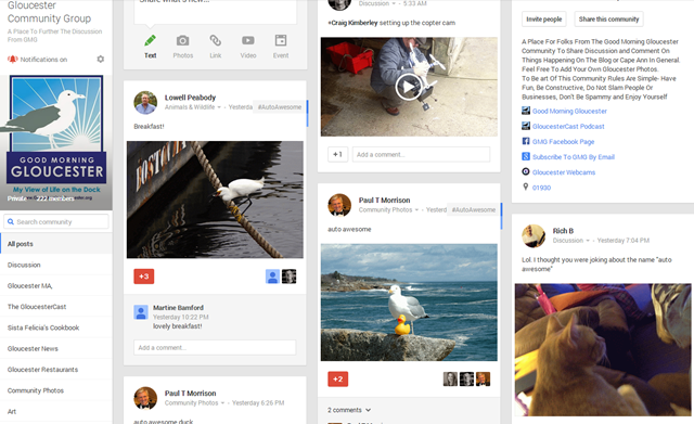 If you haven't joined the new GMG Google+ Community Group then you missed…