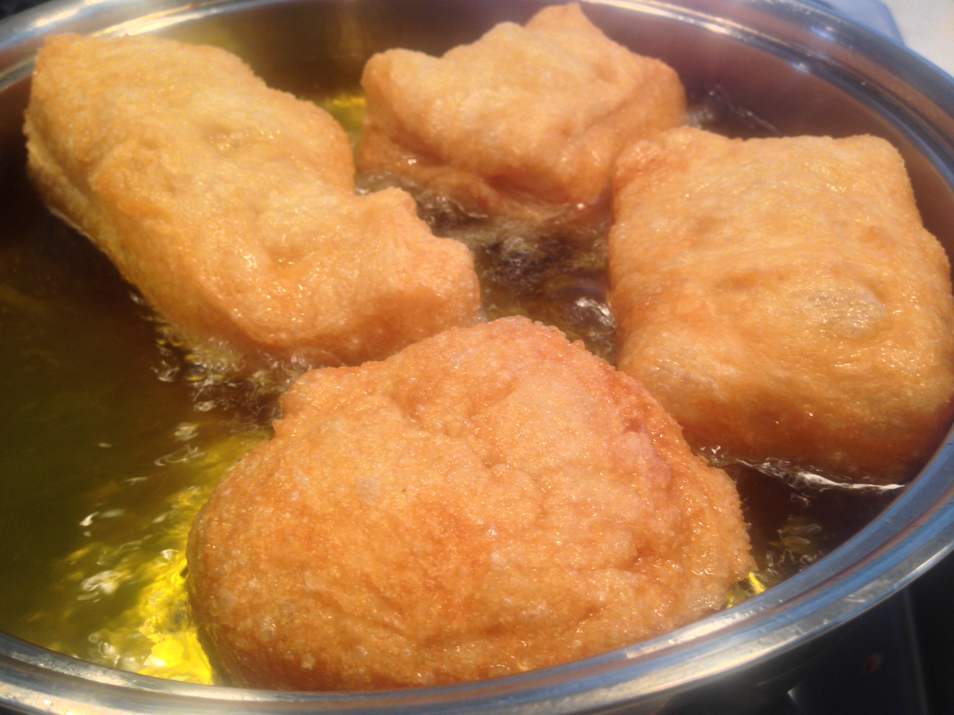 how to cook fried dough