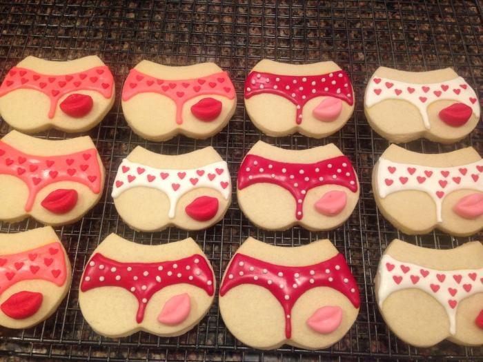 kiss my ass sugar cookies (50)