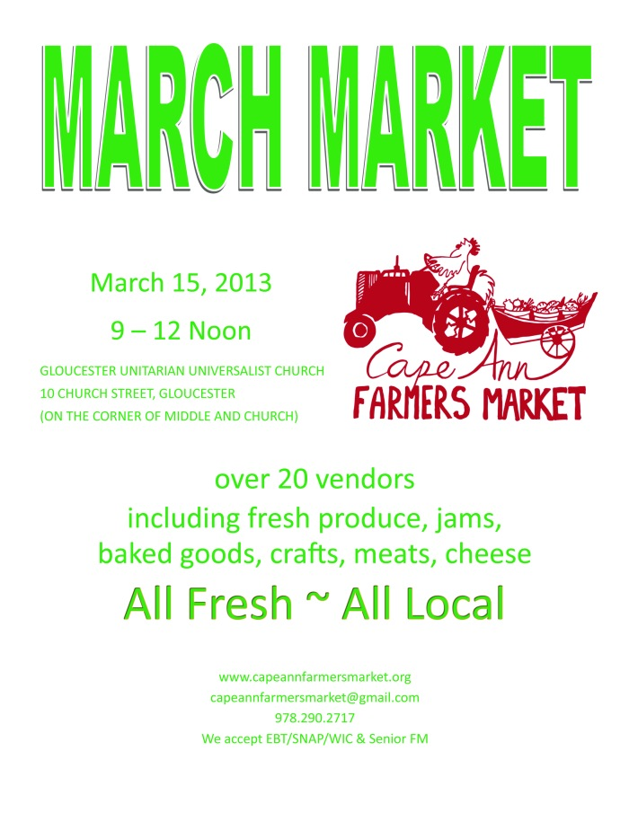 March Market Poster 2014