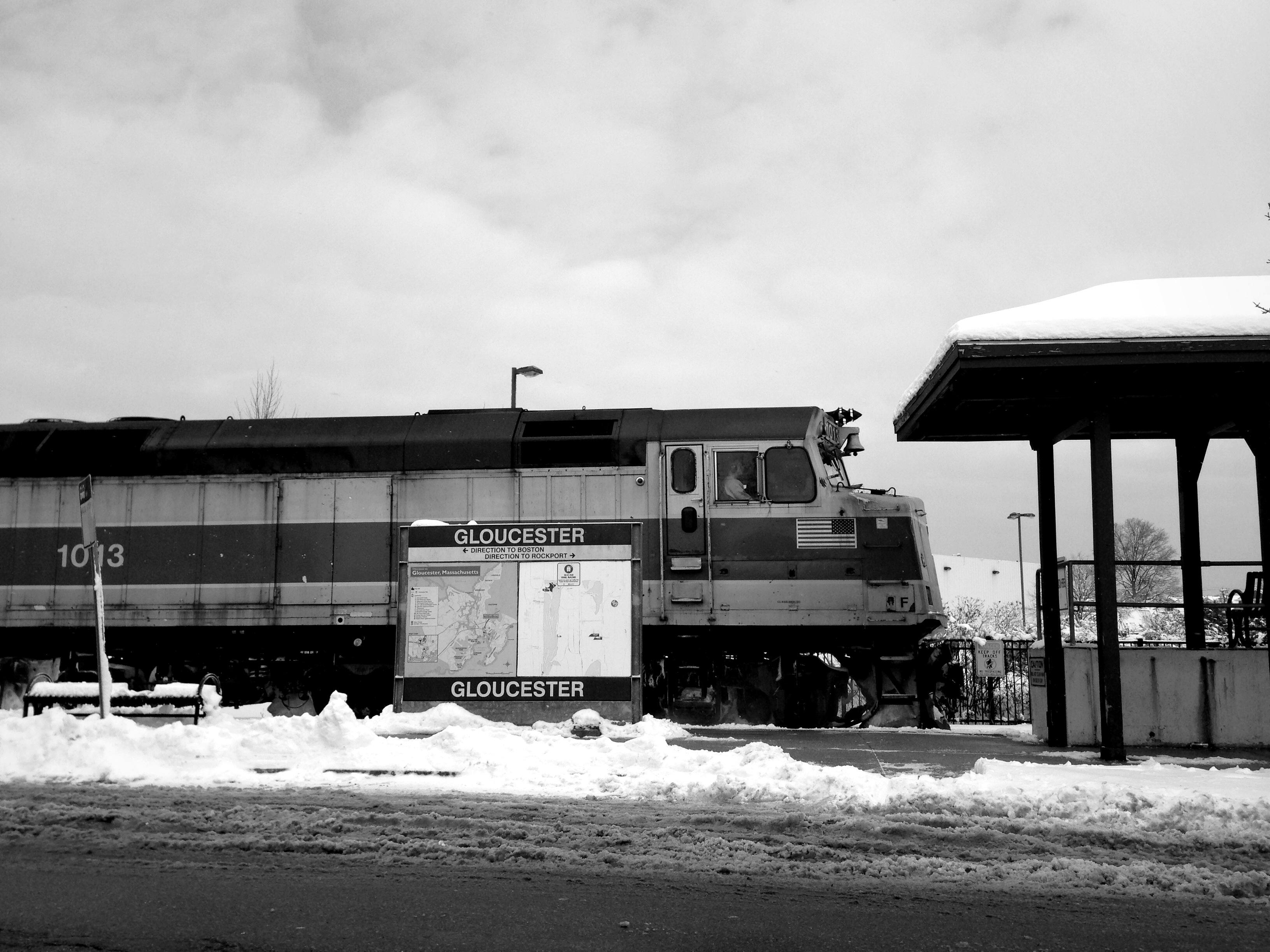 Cold engine.