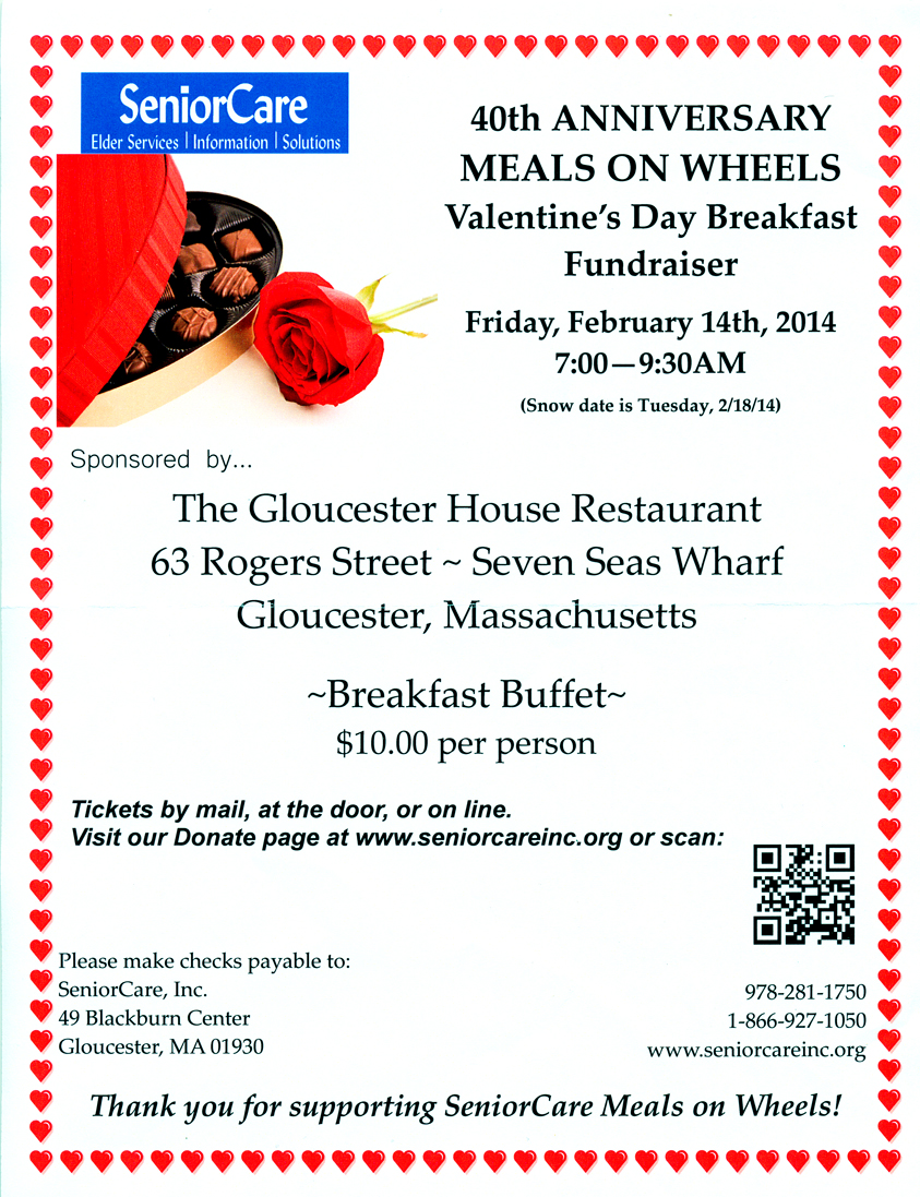 senior care breakfast fundraiser