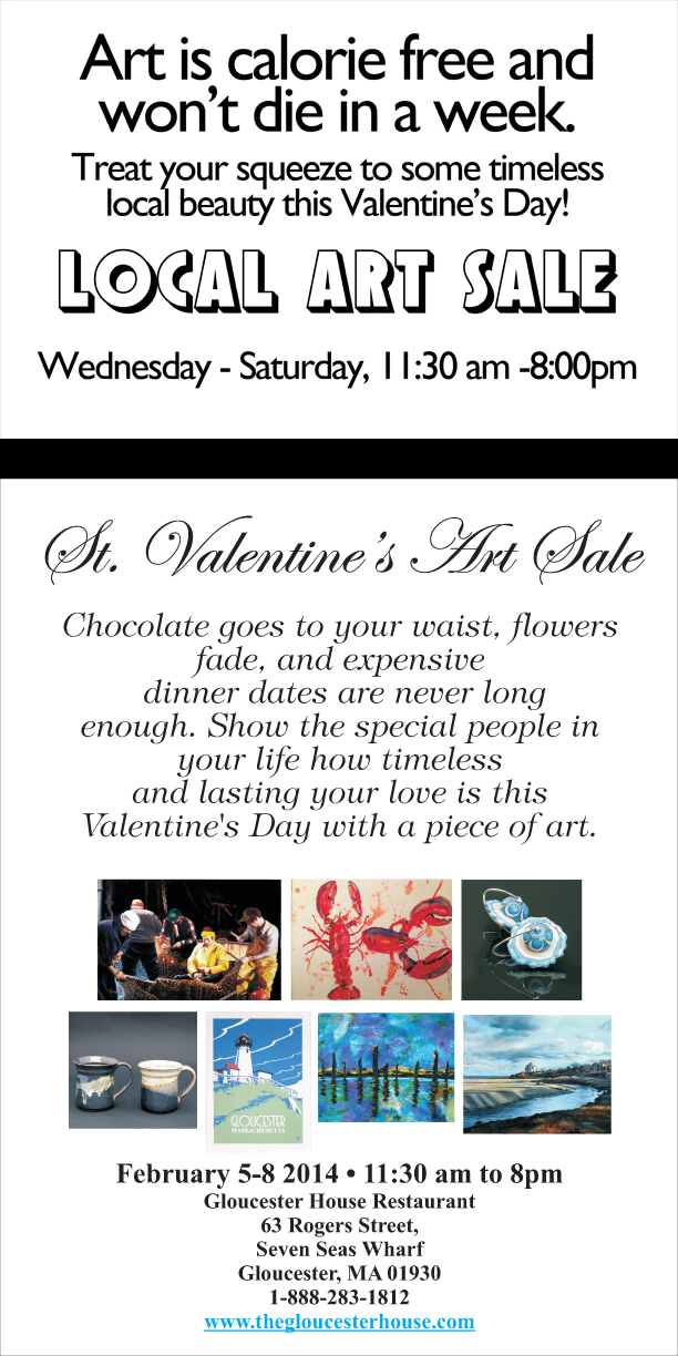 St Valentine art sale2