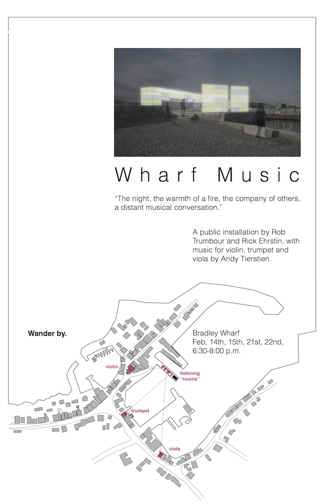 wharf music poster