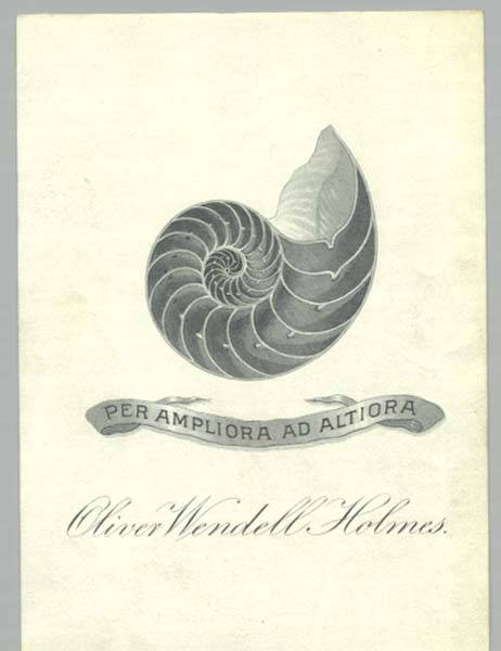 bookplate-oliver-wendall-holmes