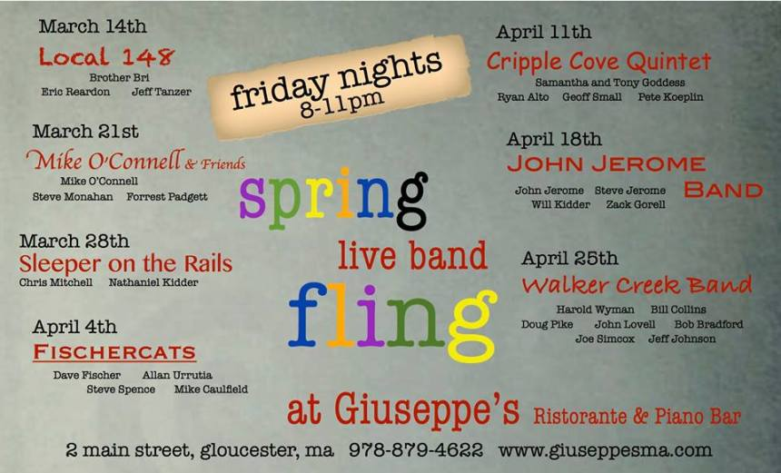 giuseppes friday bands