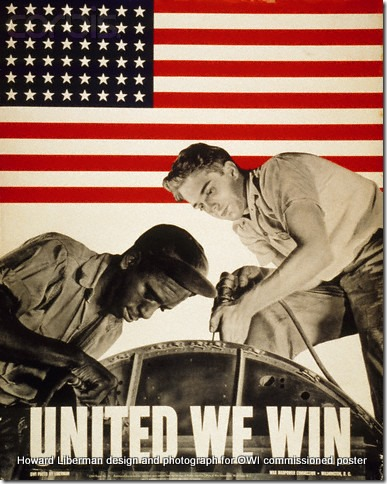 1943 --- United We Win Poster by Howard Liberman --- Image by © CORBIS