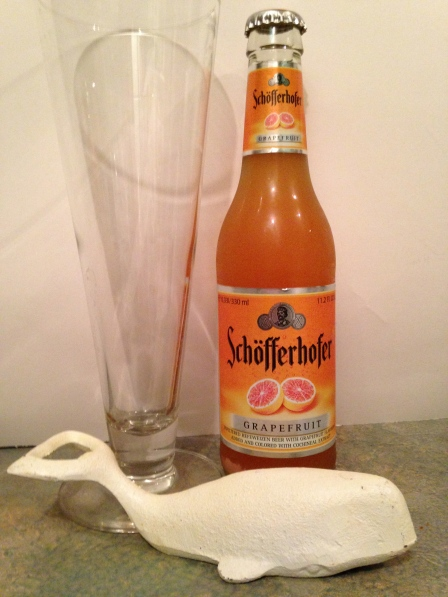 Schofferhofer:  Super Yummy Grapefruit beer. You're going to have to trust me on this and not rule it out.