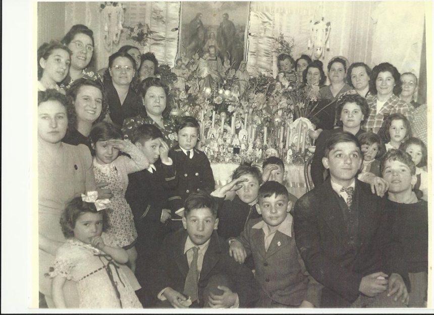Linquater family altar Dolores