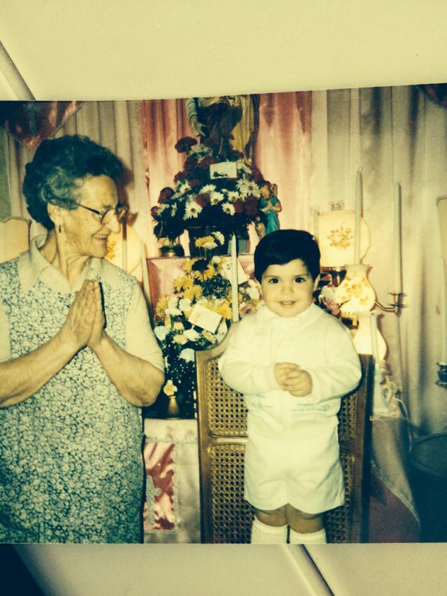 paul at st. joes day grandma ciolino