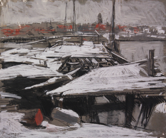 Wharves in Snow 528
