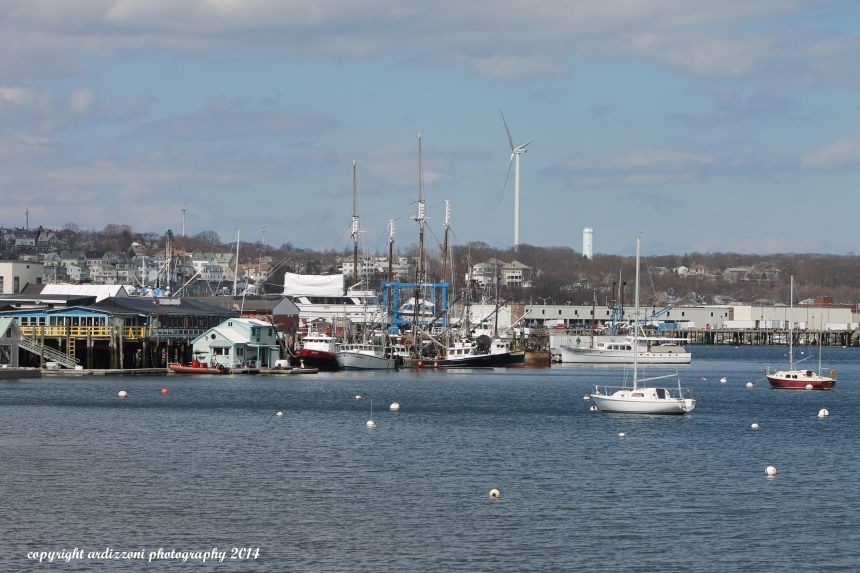 April 9, 2014 Rocky Neck boats