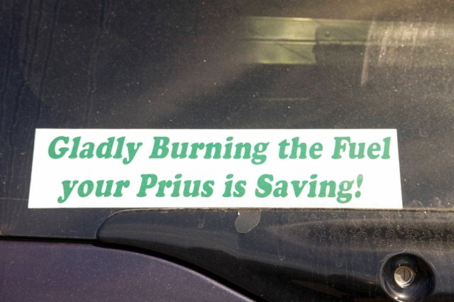 But for the grace of a Prius..