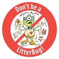 Do not be a litter bug