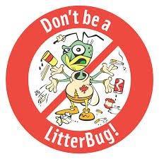 Do not be a litter bug