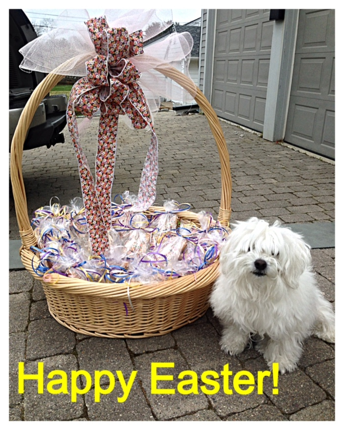 Easter basket Coconut