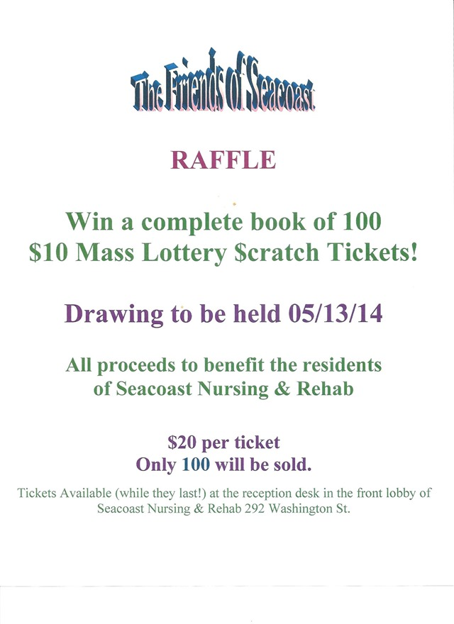 FOS Scratch Ticket Raffle 2014