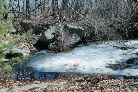 Still some ice in April