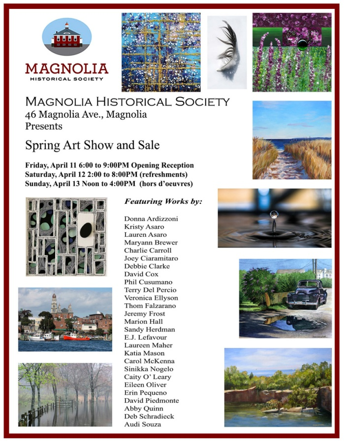 Magnolia Historical Society Spring Art Show poster_debs truck sm