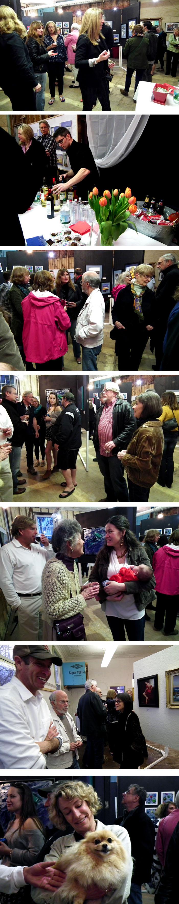 MHS spring art show opening