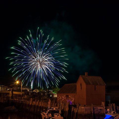rockport fireworks