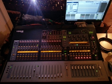 Our new digidesign SC-48 console