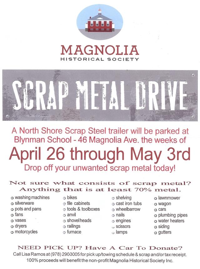 Scrap Metal Drive 2014
