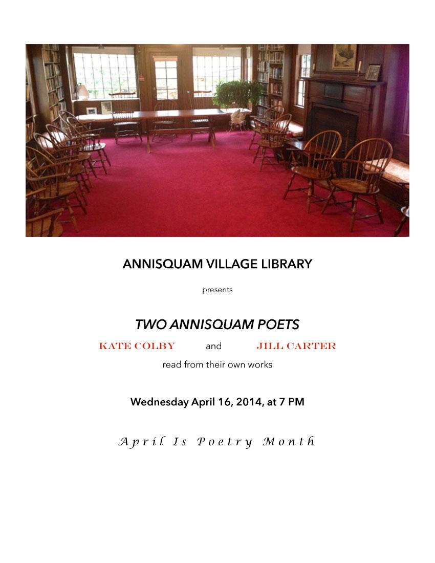 two annisquam poets