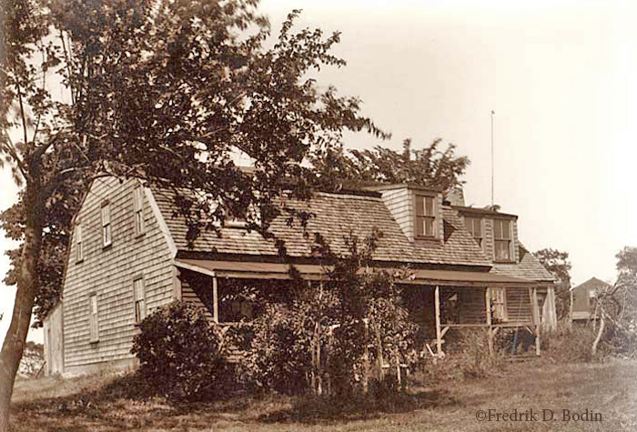 The Ancient Riggs House, on Vine Street in Gloucester, was built in the 1640's. Thomas Riggs bought it in 1661. It's one of only three surviving squared-log houses in Massachusetts, and the oldest existing home on Cape Ann. In 1998, it got electricity, heat, and running water.