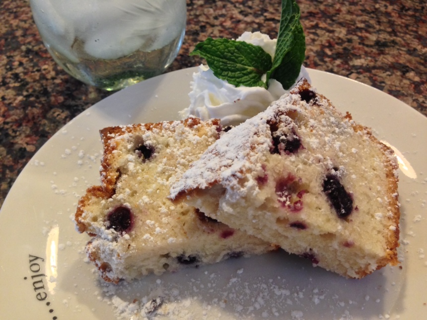 blueberry mascarpone pound cake