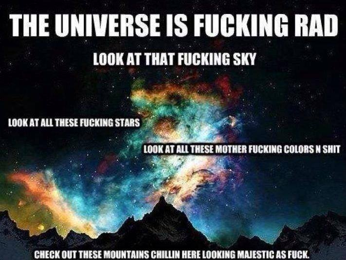 joeys view on the universe