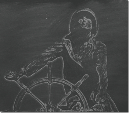 MAW WHITE ON BLACKBOARD
