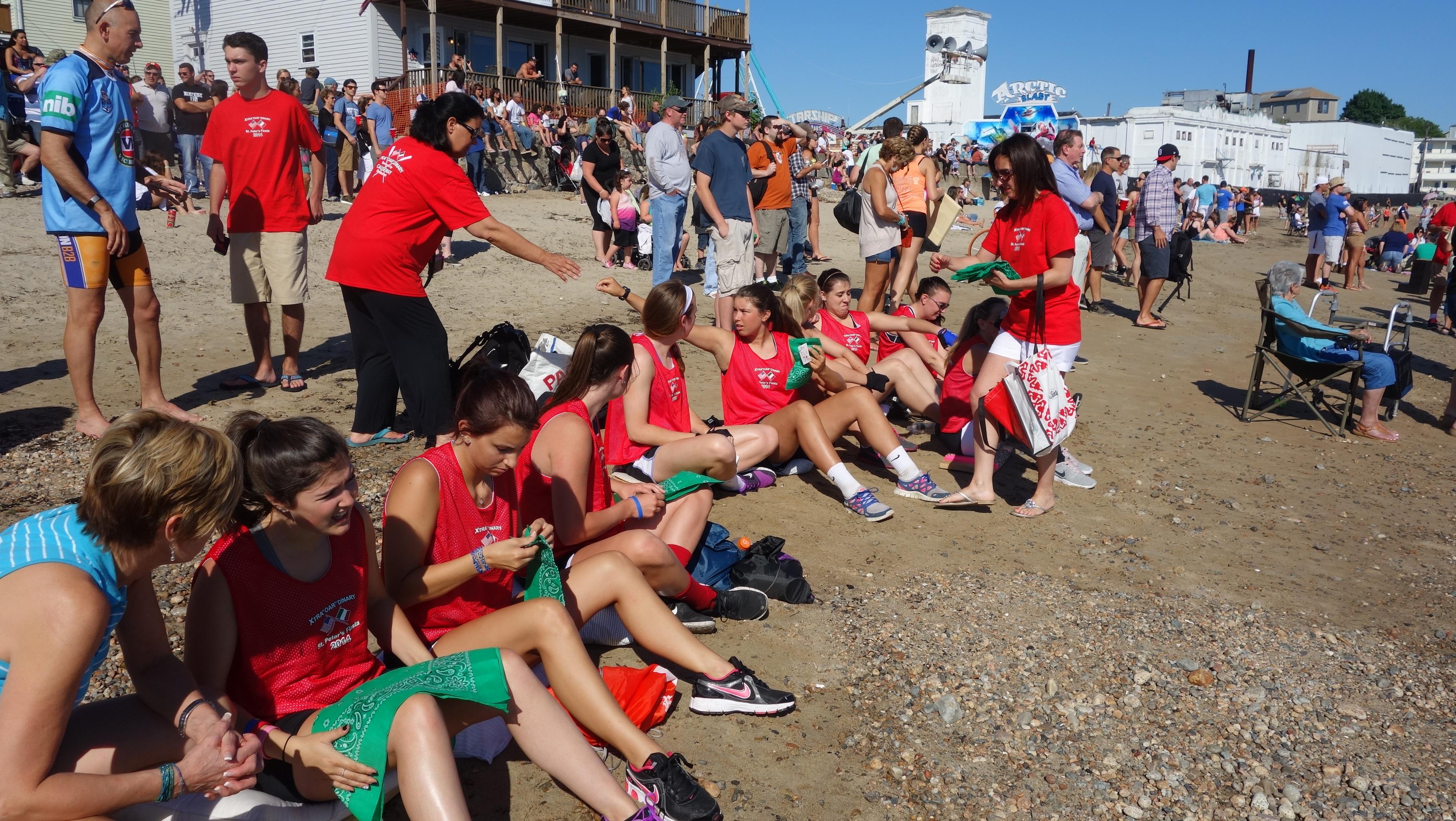 Amanda Race St. Peter's Fiesta 2014 Camps! 033
