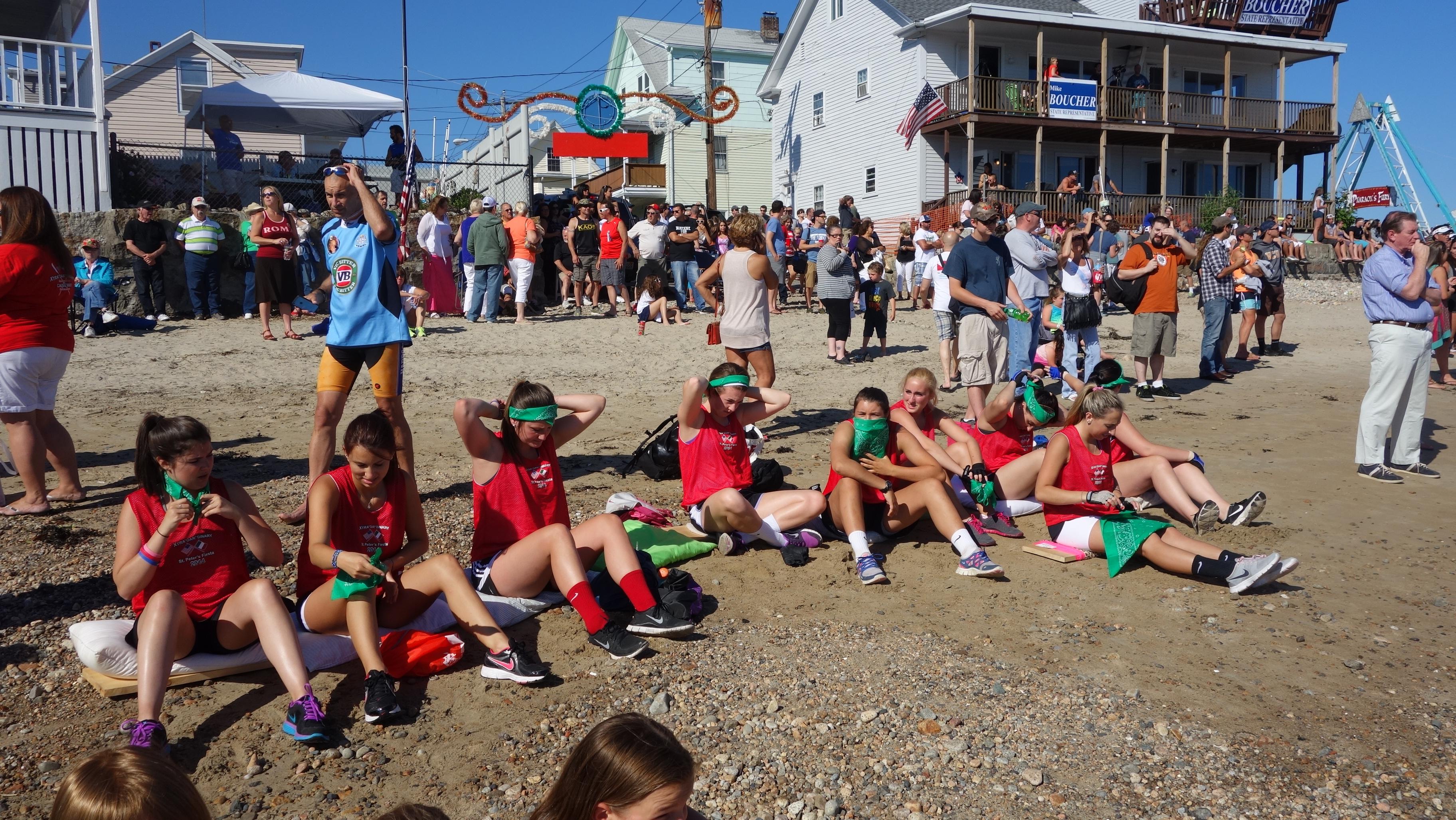 Amanda Race St. Peter's Fiesta 2014 Camps! 038