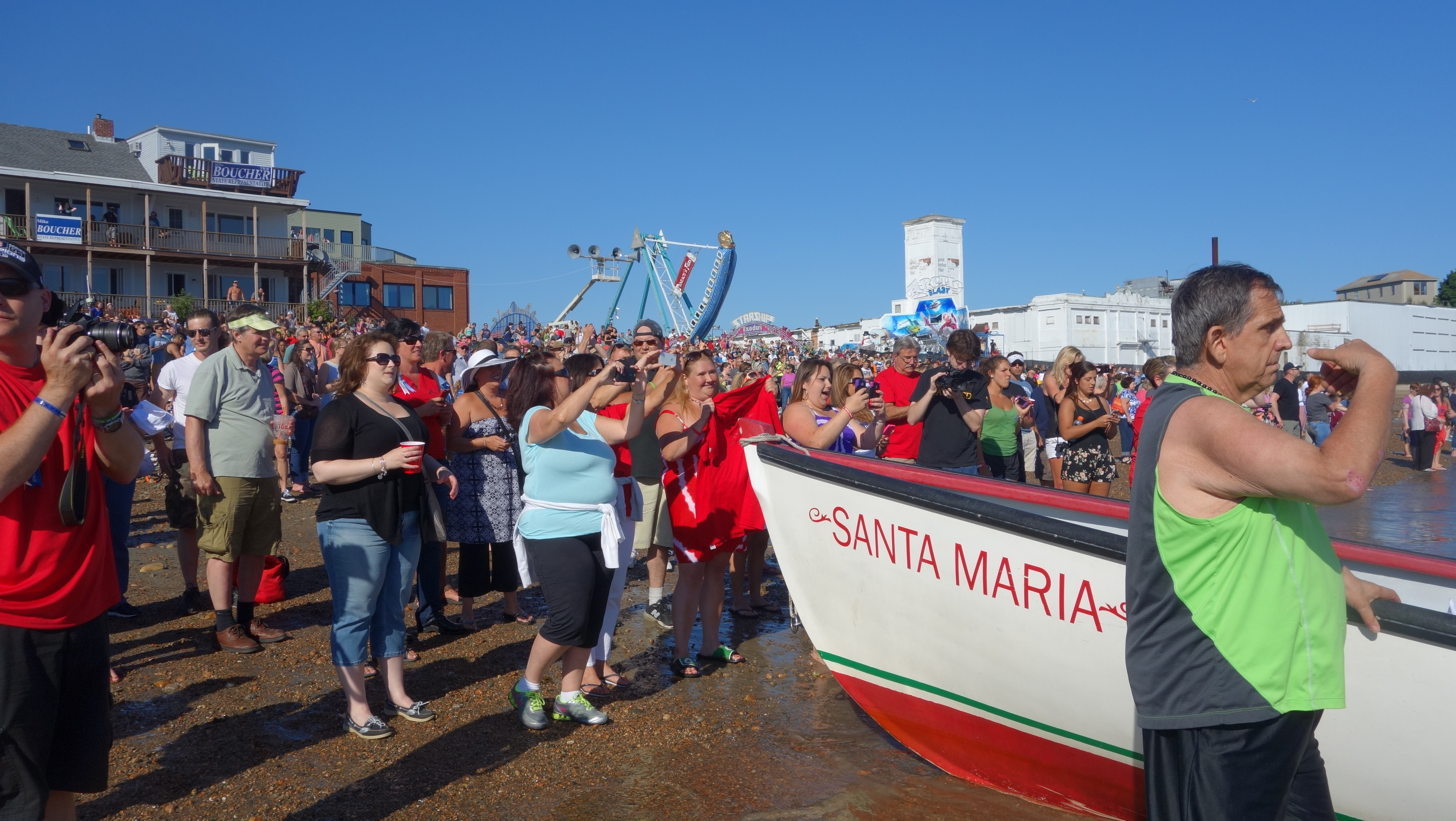 Amanda Race St. Peter's Fiesta 2014 Camps! 102