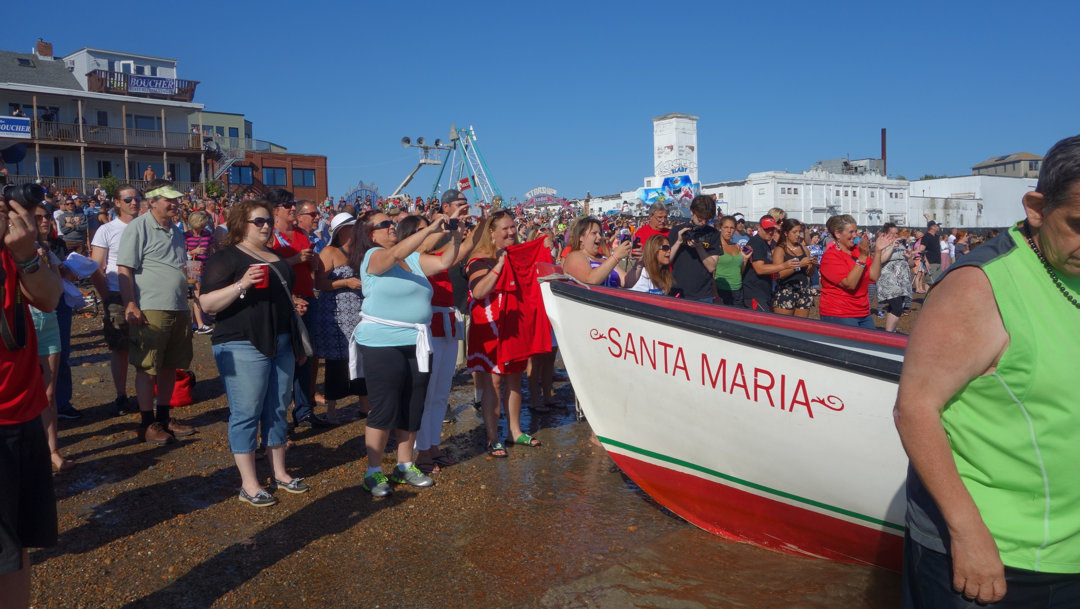 Amanda Race St. Peter's Fiesta 2014 Camps! 104