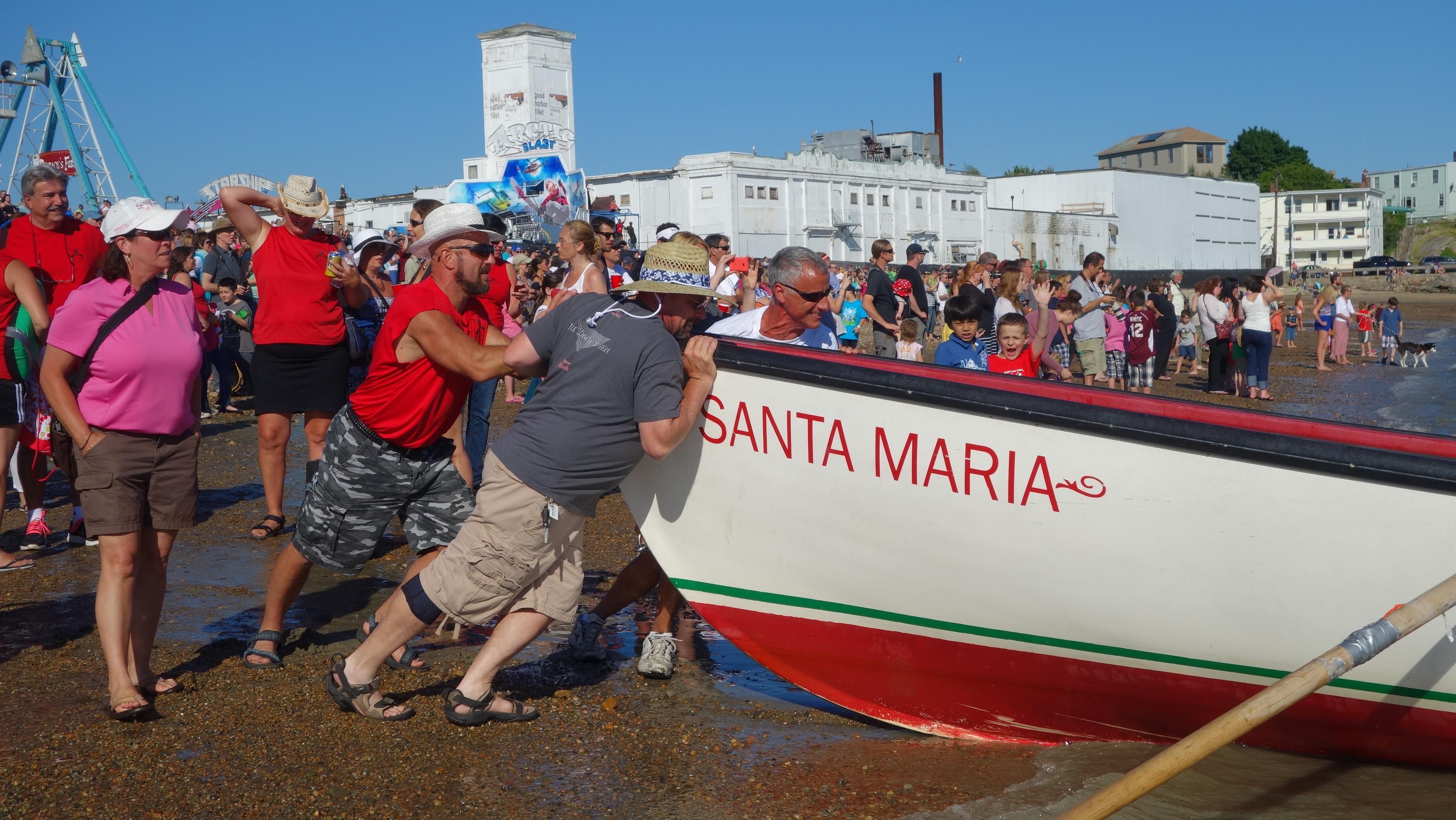 Amanda Race St. Peter's Fiesta 2014 Camps! 134