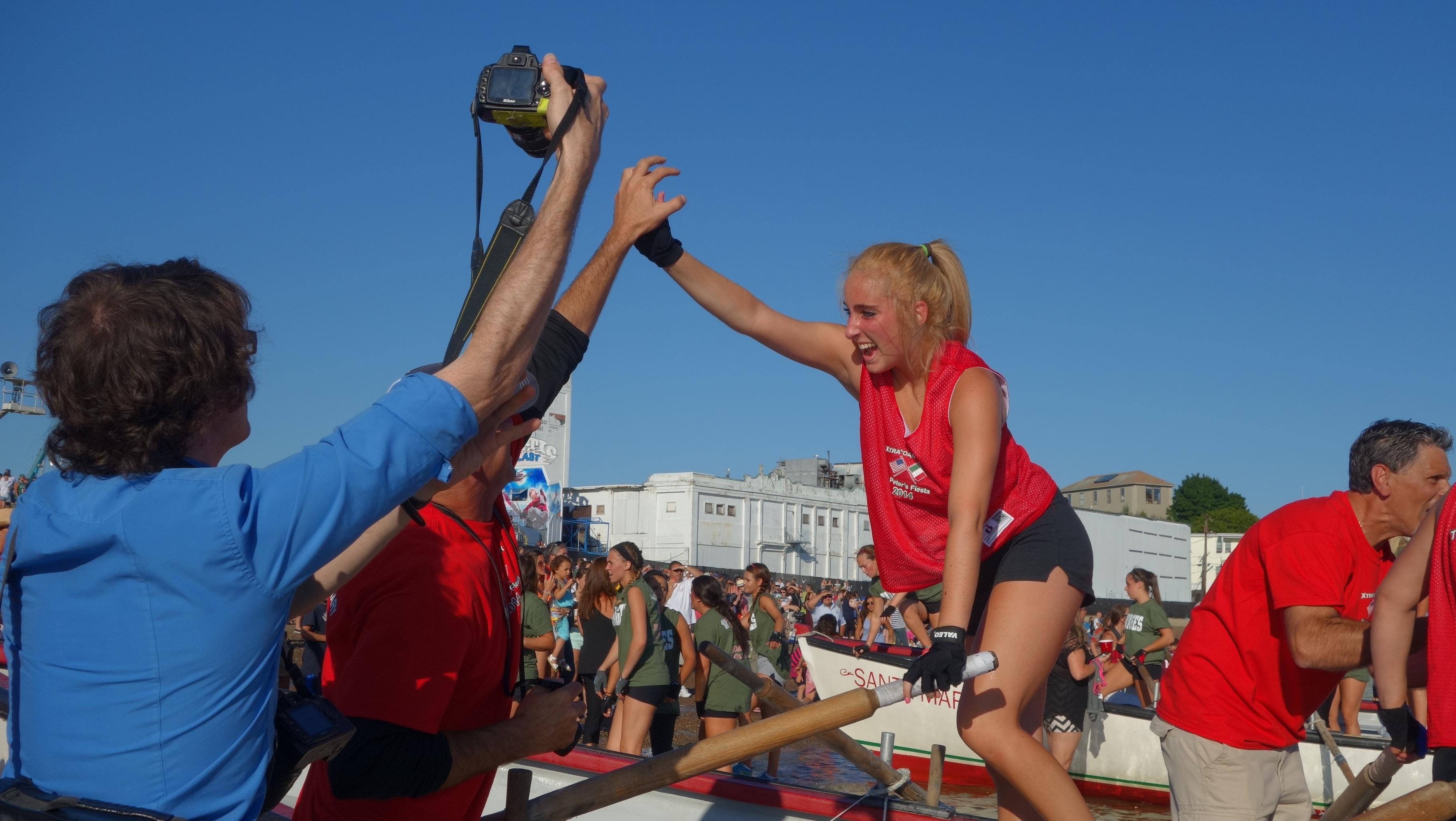 Amanda Race St. Peter's Fiesta 2014 Camps! 196