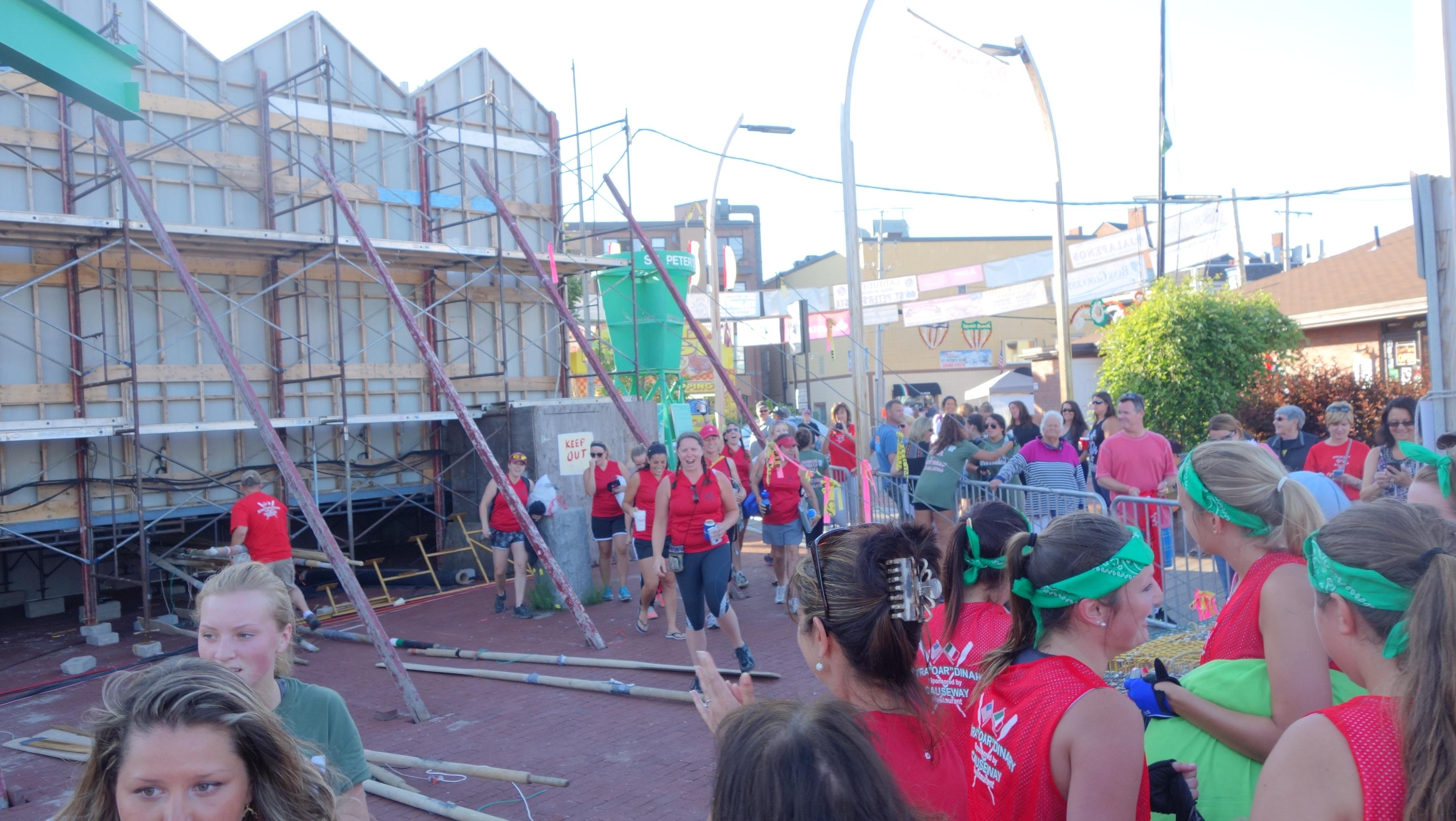 Amanda Race St. Peter's Fiesta 2014 Camps! 326
