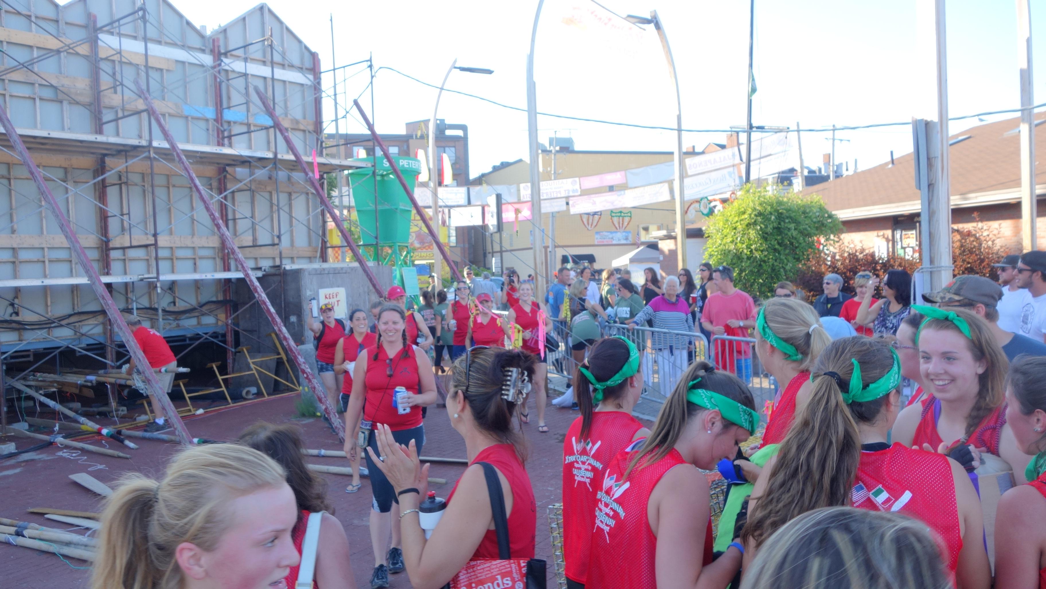 Amanda Race St. Peter's Fiesta 2014 Camps! 327