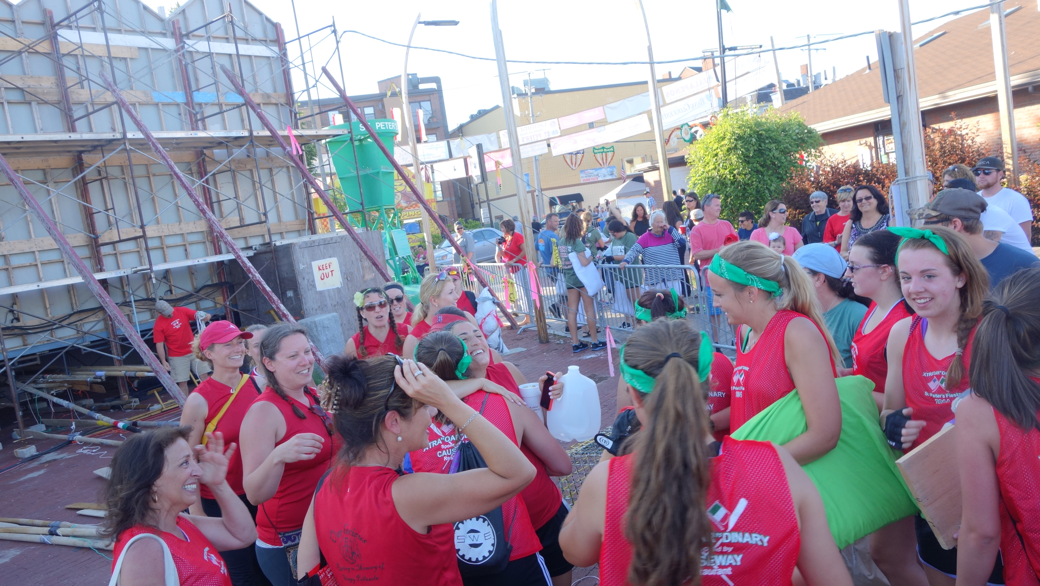 Amanda Race St. Peter's Fiesta 2014 Camps! 329