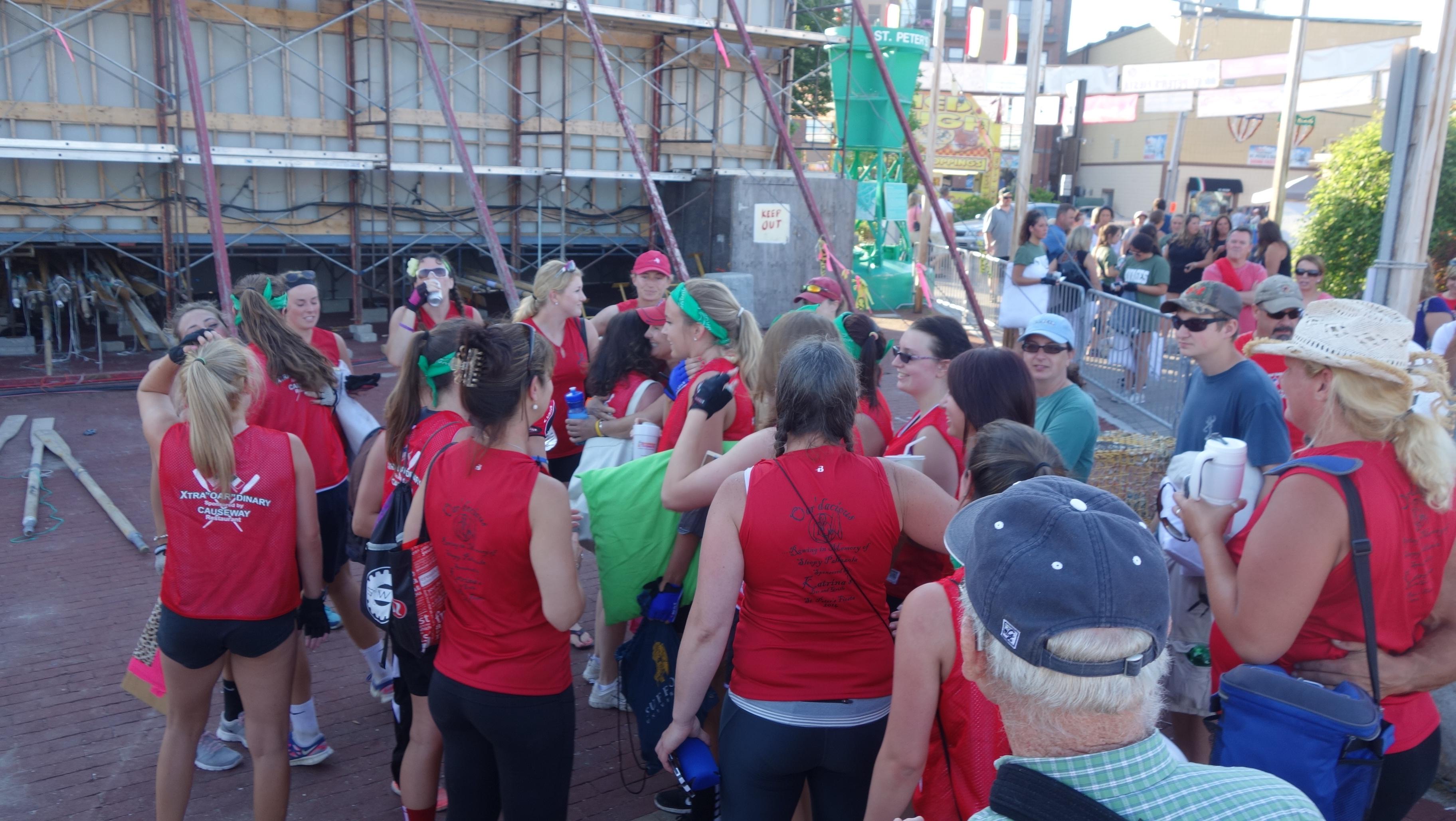 Amanda Race St. Peter's Fiesta 2014 Camps! 335